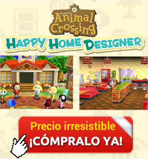 comprar animal crossing happy home designer