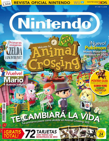 La revista de Nintendo a lo Animal Crossing