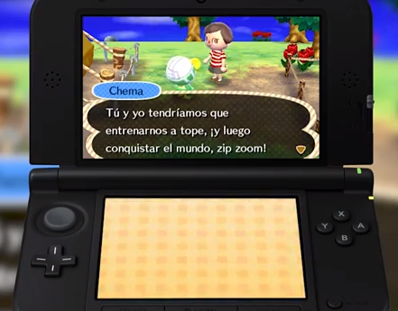 Vídeo con 25 minutos en ESPAÑOL de Animal Crossing New Leaf