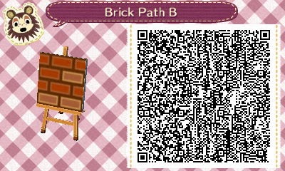 QR Code for Path | Caminos acnl, Animal crossing qr