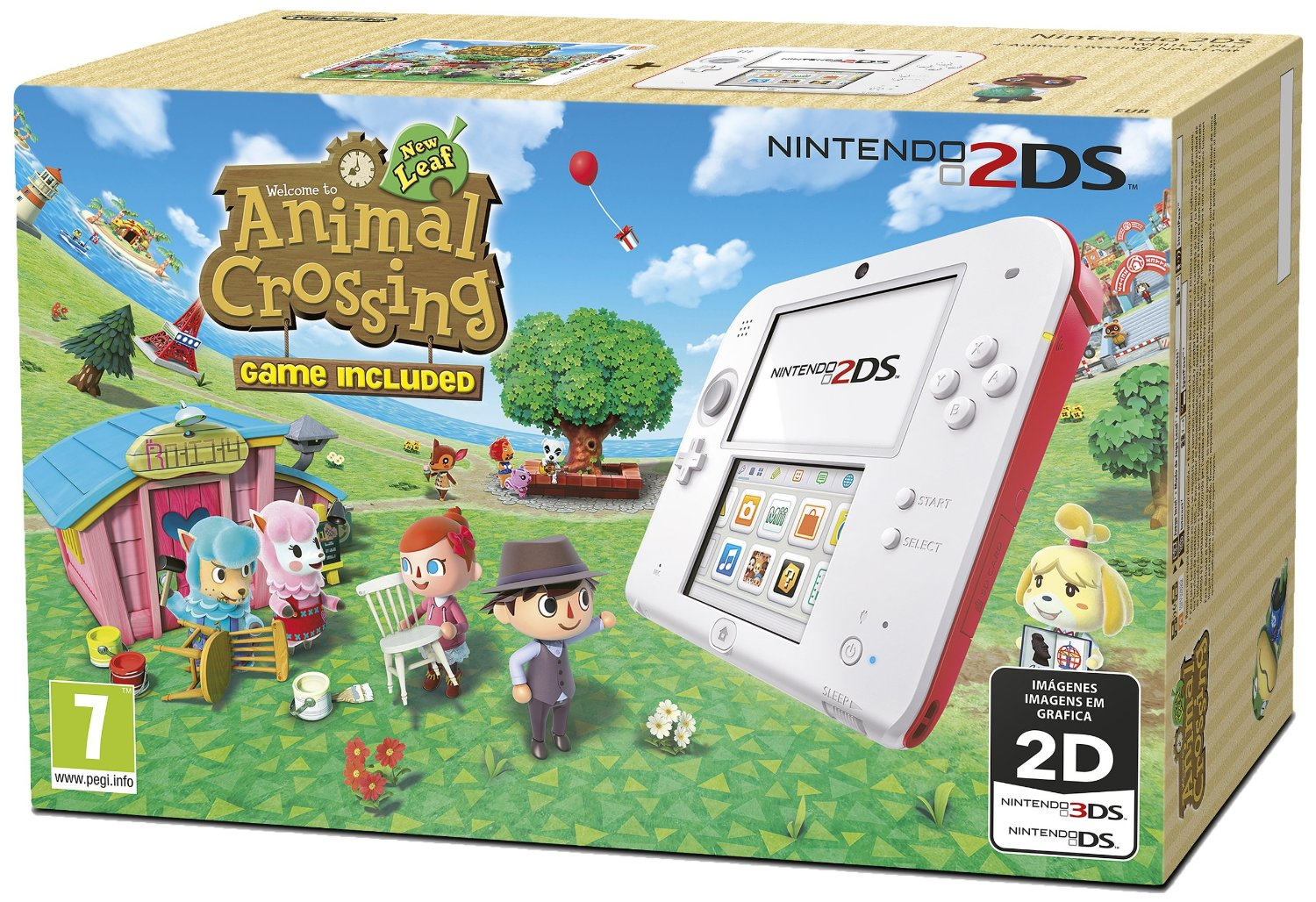 Llega el pack especial de Animal Crossing: New Leaf a la 2DS