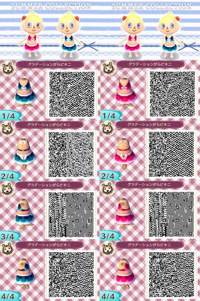 Animal Crossing Qr Code Cat