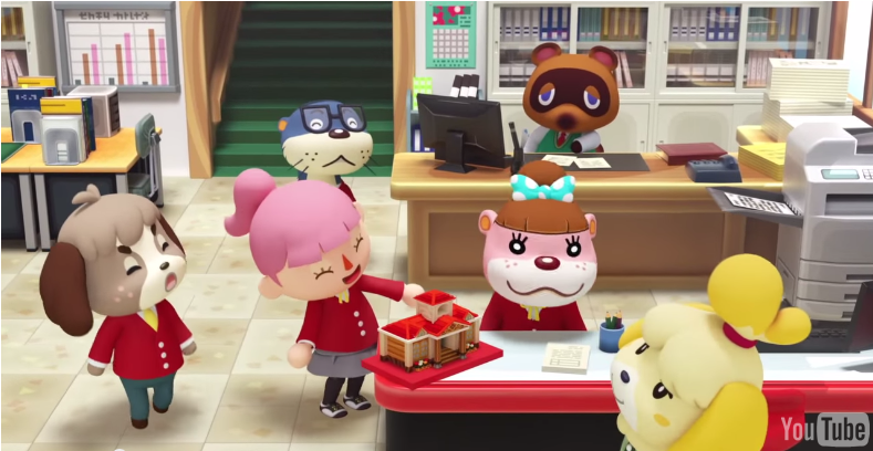 Dos asombrosos comerciales, en 3D, de Animal Crossing Happy Home Designer