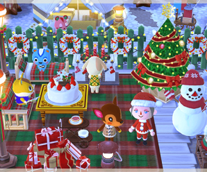 Mobiliario y ropa festiva en Animal Crossing Pocket Camp